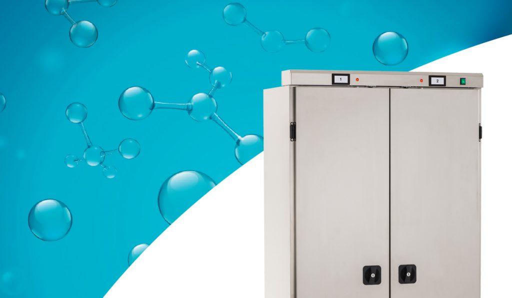 armadio con sanificatore ozono sany ilsa